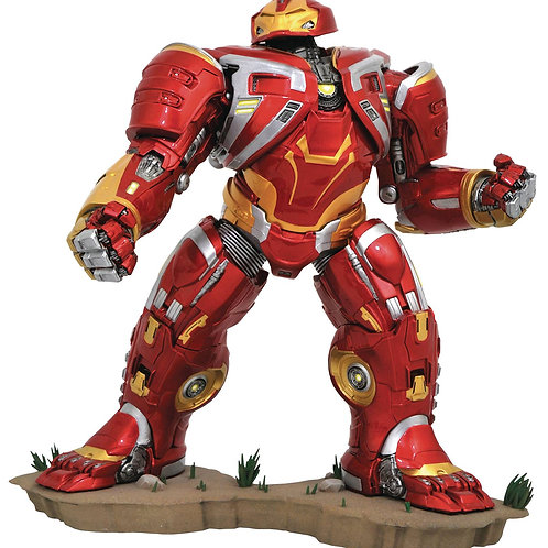 MARVEL GALLERY AVENGERS 3 HULKBUSTER DLX PVC FIG (C: 1-1-2) DIAMOND SELECT TOYS