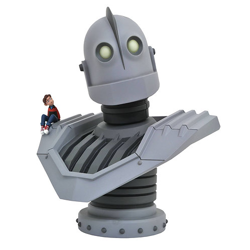 LEGENDS IN 3D MOVIE IRON GIANT 1/2 SCALE BUST (MUST ORDER 6 OR MORE)
