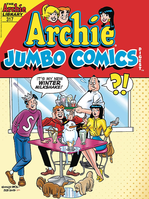 ARCHIE JUMBO COMICS DIGEST #317 ARCHIE COMIC PUBLICATIONS (W) Ron Robbins (A) Va