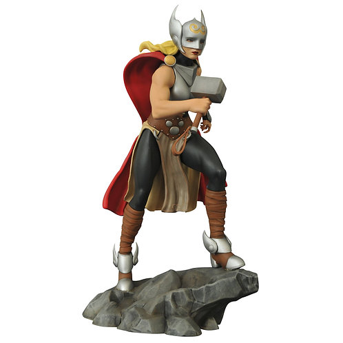 MARVEL GALLERY LADY THOR PVC FIG (C: 1-1-2) DIAMOND SELECT TOYS LLC A Diamond Se