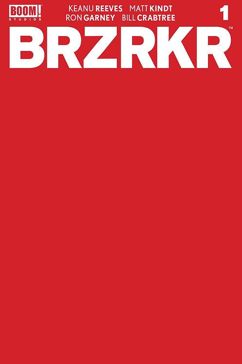 BRZRKR (BERZERKER) #1 CVR F 10 COPY INCV RED BLANK SKETCH CV