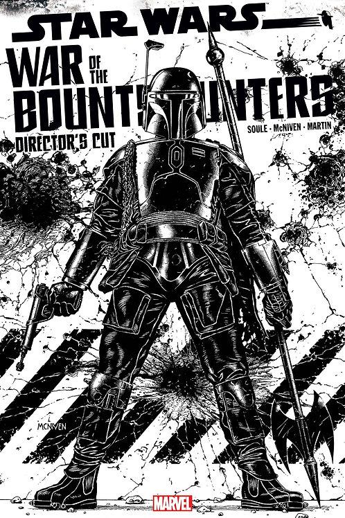 STAR WARS BOUNTY HUNTERS ALPHA DIRECTOR CUT #1 SKETCH VAR