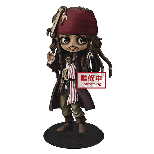 DISNEY POTC Q-POSKET JACK SPARROW FIG (C: 1-1-2) BANPRESTO From Banpresto. Capta