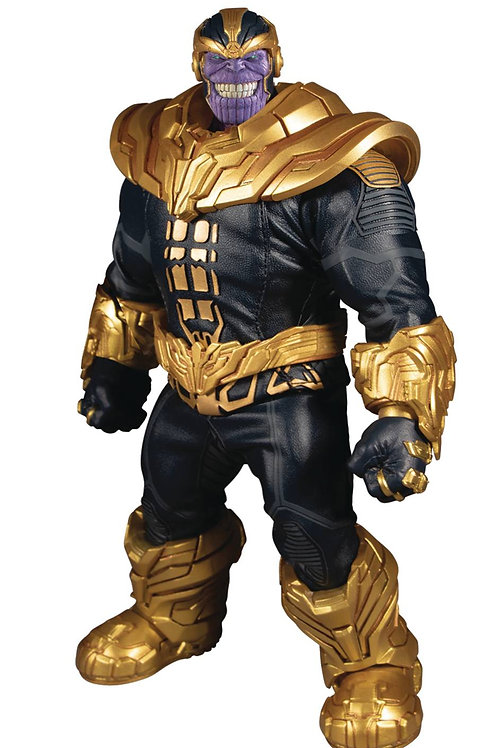 ONE-12 COLLECTIVE MARVEL THANOS AF (Net) (C: 1-1-2) MEZCO TOYS From Mezco Toys.