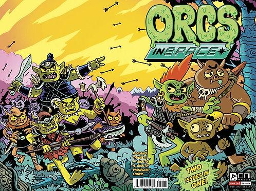 Orcs In Space 2-in-1 11 bk bundle (5)A (5)B + 1:10