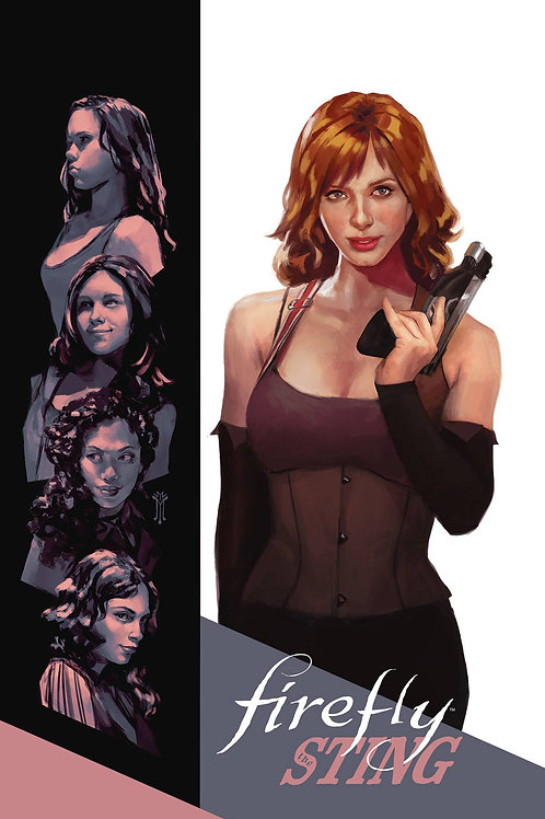 FIREFLY THE STING OGN LIMITED EDITION HC BOOM! STUDIOS (W) Delilah S Dawson (A)