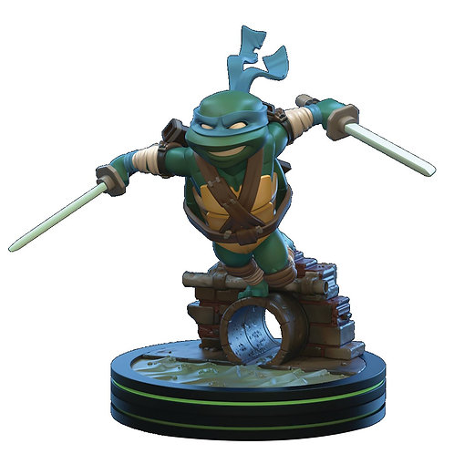 TMNT LEONARDO Q-FIG DIORAMA FIGURE (C: 1-1-2) QUANTUM MECHANIX INC From Quantum