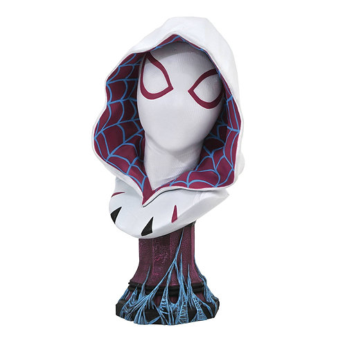LEGENDS IN 3D MARVEL COMIC SPIDER-GWEN 1/2 SCALE BUST (MUST ORDER 6 OR MORE)