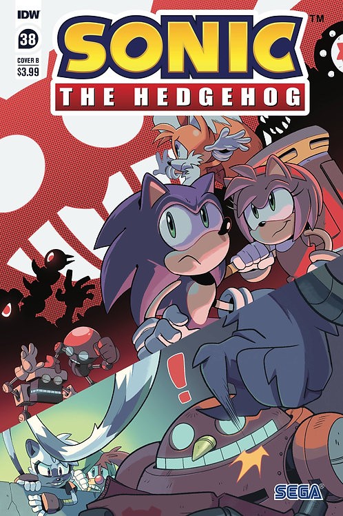 SONIC THE HEDGEHOG #38 CVR B ROTHLISBERGER (C: 1-0-0) IDW PUBLISHING (W) Evan St