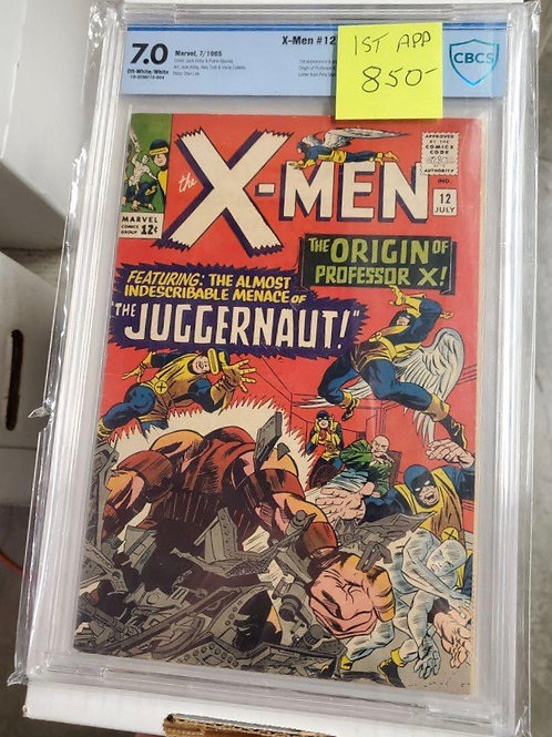 X-Men #12, CBCS 7.0