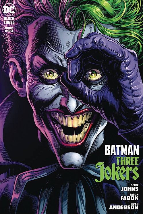 DF BATMAN THREE JOKERS #3 FABOK SGN (C: 0-1-2) DYNAMIC FORCES The final chapter