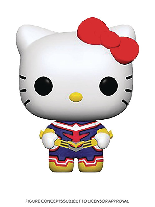 POP ANIMATION SANMHA H KITTY ALL MIGHT VIN FIG (must order 12 or more)