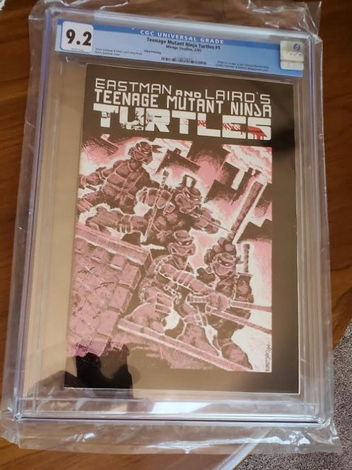 Teenage Mutant Ninja Turtles #1, 3rd print, CGC 9.2