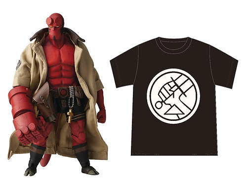 HELLBOY BPRD SHIRT VERSION PX 1/12 SCALE AF (Net) (C: 1-1-2) 1000 TOYS INC. From