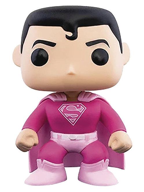 POP BREAST CANCER AWARENESS SUPERMAN VIN FIG (Must order 6 or more)