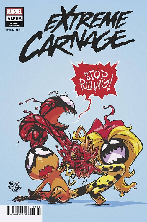 EXTREME CARNAGE ALPHA #1 YOUNG VAR MARVEL COMICS (W) Phillip Kennedy Johnson (A)