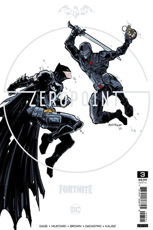 BATMAN FORTNITE ZERO POINT #3 PREMIUM VARIANT C