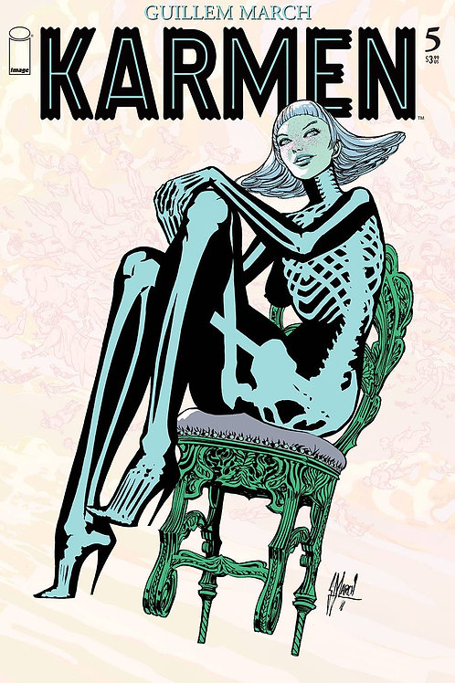 KARMEN #5 (OF 5) CVR A MARCH (MR) IMAGE COMICS (W/A/CA) Guillem March In the mov