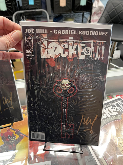 Locke and Key #1 facsimile COPPER SIGNATURE autographed by Jay Fotos