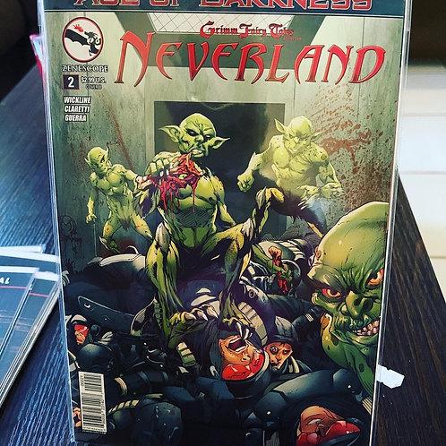 Neverland #2 graded, pressed, autographed, blah blah blah