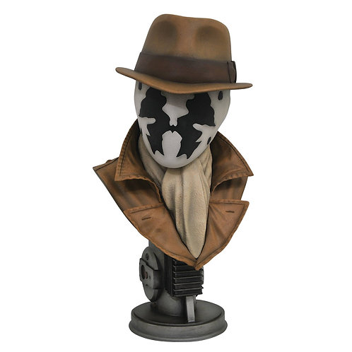 LEGENDS IN 3D MOVIE WATCHMEN RORSCHACH 1/2 SCALE BUST (MUST ORDER 6 OR MORE)