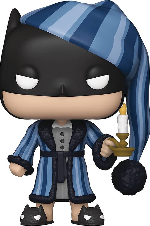 POP HEROES DC HOLIDAY SCROOGE BATMAN VIN FIG (MUST ORDER 12 OR MORE)