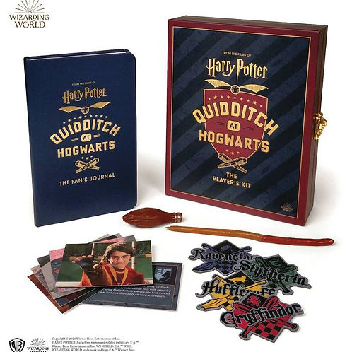 HARRY POTTER QUIDDITCH AT HOGWARTS PLAYERS KIT (C: 0-1-0) RUNNING PRESS (W) Dona