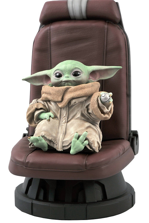 STAR WARS THE MANDALORIAN CHILD IN CHAIR 1/2 SCALE STATUE (C DIAMOND SELECT TOYS