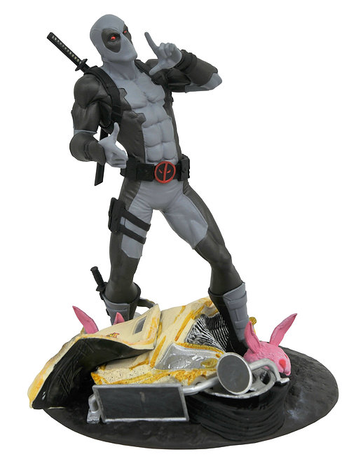 SDCC 2019 MARVEL GALLERY X-FORCE TACO TRUCK DEADPOOL STATUE DIAMOND SELECT TOYS