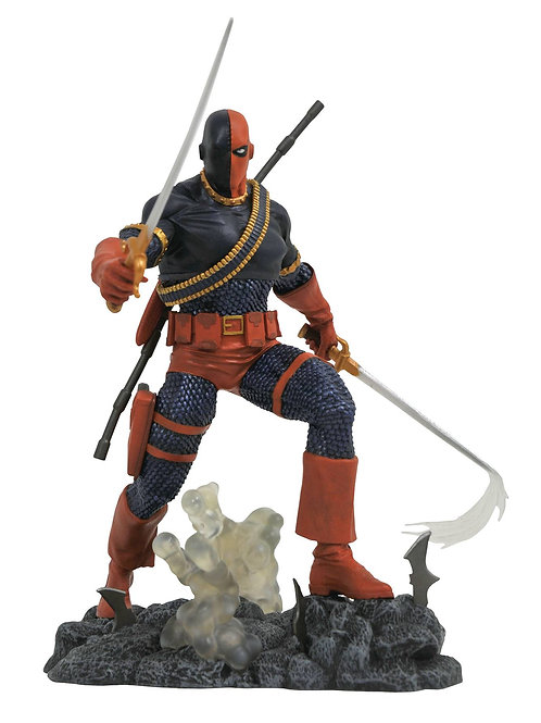 DC COMICS GALLERY DEATHSTROKE PVC STATUE (C: 1-1-2) DIAMOND SELECT TOYS LLC A Di