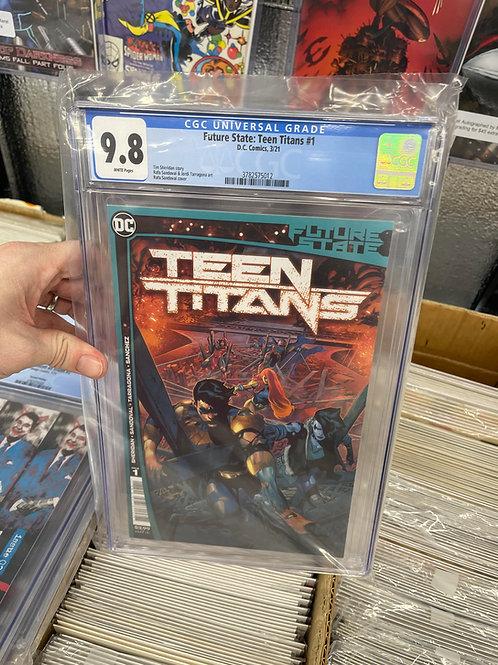 Future State Teen titans #1 CGC 9.8