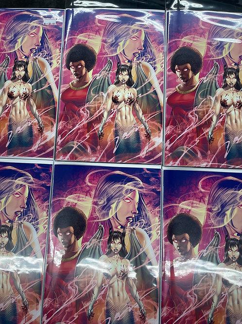 Cult of Dracula #3 VIRGIN Brandons comic Exclusive CA Marat Mychaels MSRP $44.99