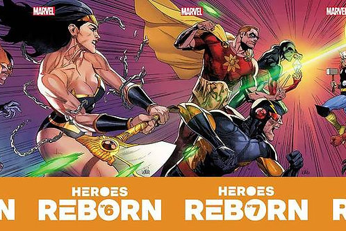 Heroes Reborn connecting sets.. not discounted
