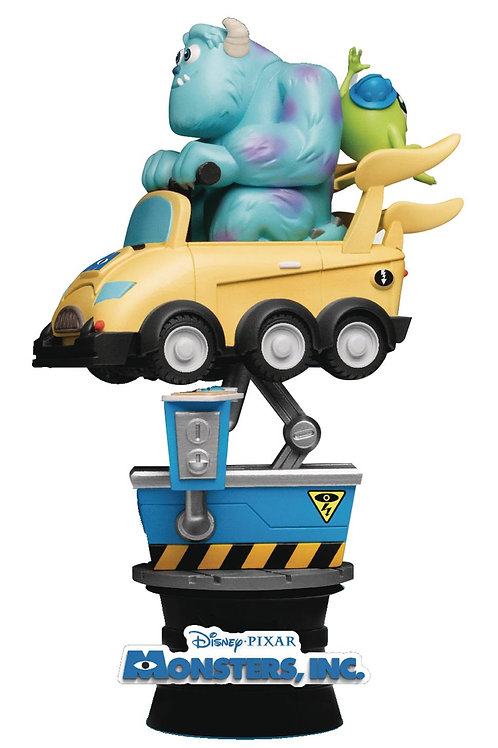 COIN RIDE DS-037 MONSTERS INC D-STAGE SER 6IN STATUE (C: 1-1 BEAST KINGDOM CO.,