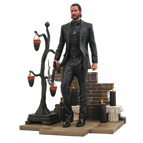 JOHN WICK 2 GALLERY PVC FIGURE (MUST ORDER 24 OR MORE)