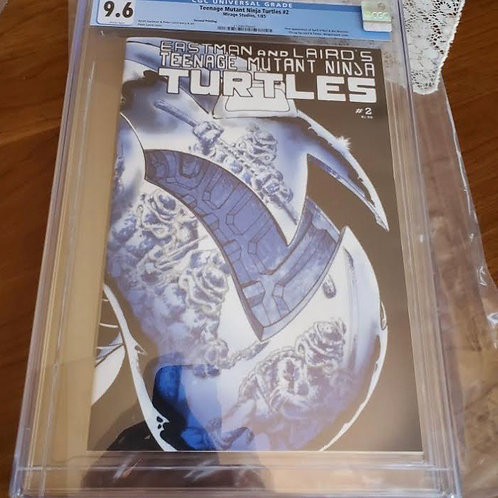 Teenage Mutant Ninja Turtles #2, 2nd print, CGC 9.6
