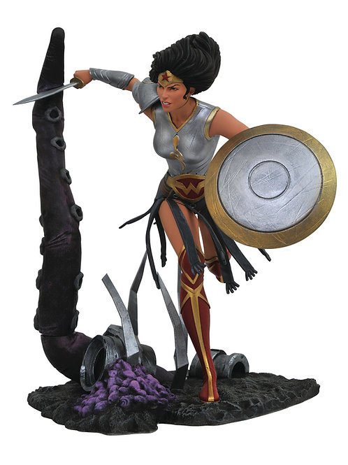 DC GALLERY METAL WONDER WOMAN PVC FIGURE (C: 1-1-0) DIAMOND SELECT TOYS LLC A Di