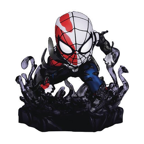 MARVEL MAXIMUM VENOM MEA-018 VENOMIZED SPIDER-MAN FIG (C: 1- BEAST KINGDOM CO.,