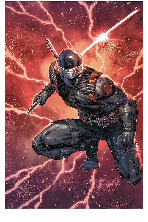 SNAKE EYES DEADGAME #5 (OF 5) CVR A LIEFELD IDW PUBLISHING (W) Rob Liefeld, Chad