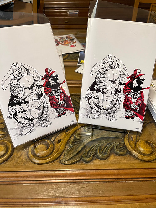 Do you Pooh? Brandon's comics exclusive 1:50 $80 each ONLY 2 EXIST!