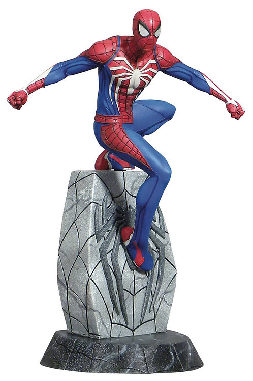 MARVEL GALLERY SPIDER-MAN PS4 PVC FIGURE (C: 1-1-2) DIAMOND SELECT TOYS LLC A Di