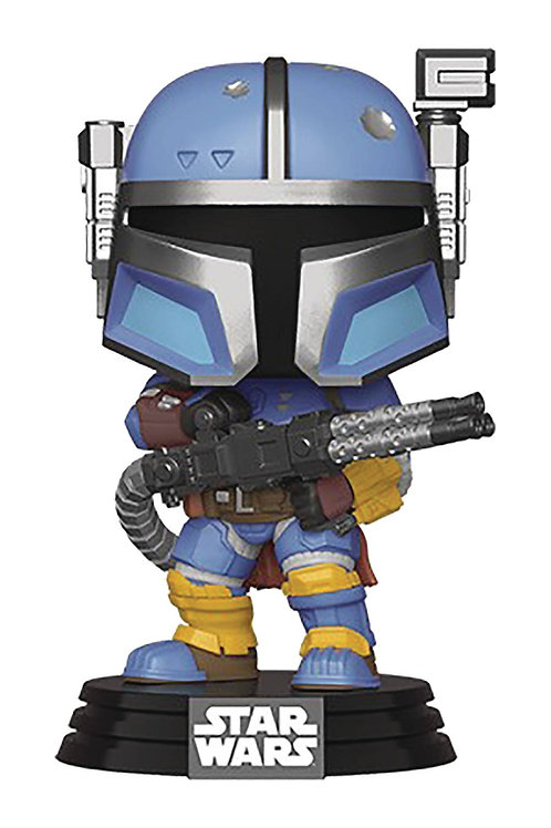 POP STAR WARS MANDALORIAN HEAVY INFANTRY MANDALORIAN VIN FIG FUNKO