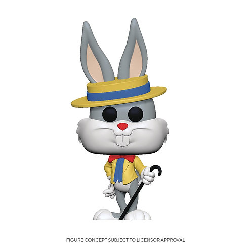 POP ANIMATION BUGS BUNNY 80TH BUGS IN SHOW OUTFIT VIN FIG (Must order 6 or more)