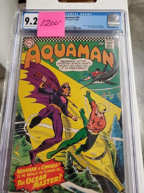 Aquaman #29, CGC 9.2