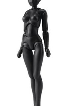 Body-Chan Solid Black Color Ver DX set 2 S.H. Figuarts