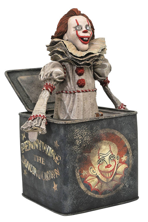 IT 2 GALLERY PENNYWISE IN BOX PVC STATUE (C: 1-1-2) DIAMOND SELECT TOYS LLC A Di