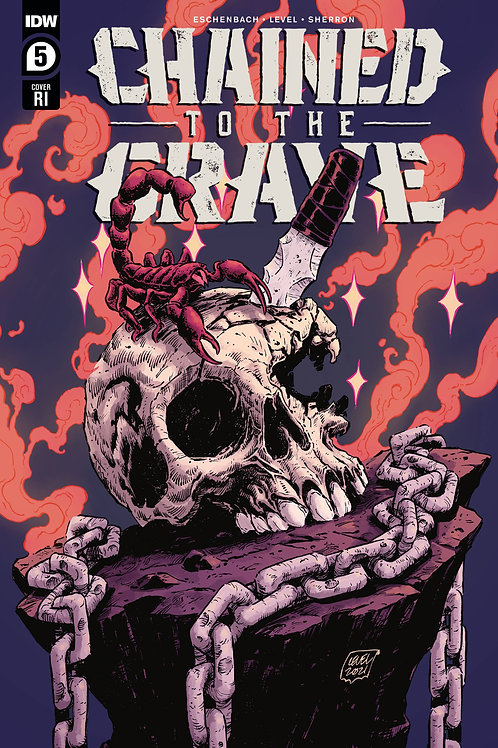 Chained to the Grave #5 (of 5) 11-book bundle  (10)A + 1:10