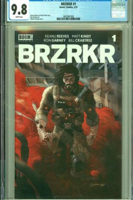 BRZRKR 1 CGC 9.8
