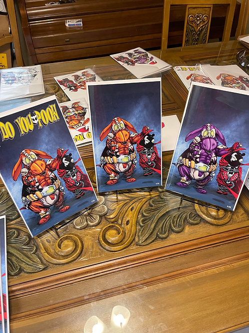 Do you Pooh? Brandon's comics numbered exclusives whole set.