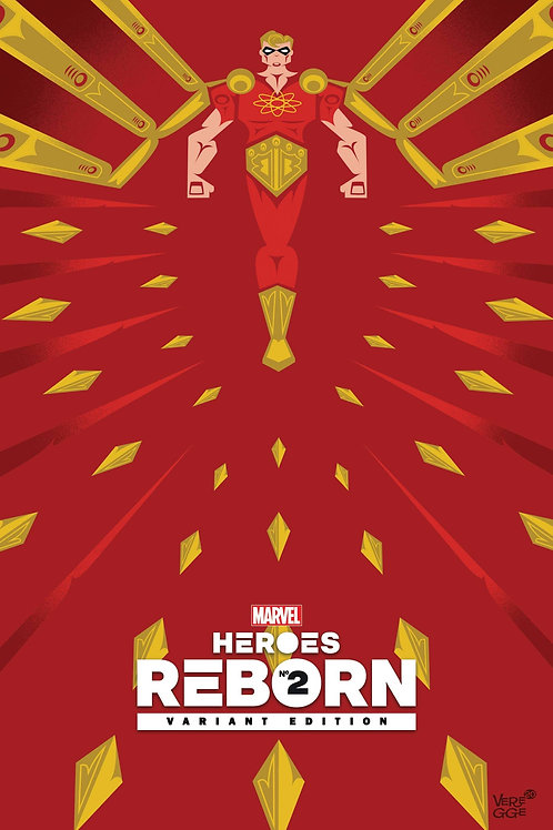 Heroes reborn #2 1:50 $50